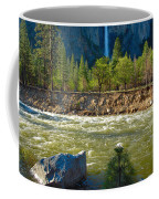 Falls On The Merced Coffee Mug