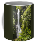 Falls On The Road To Hana Coffee Mug
