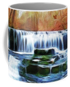 Falls Panorama-features In Groups Rivers Streams And Waterfalls-visions Of The Night Coffee Mug