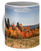 Fall's Splendor - Casper Mountain - Casper Wyoming Coffee Mug