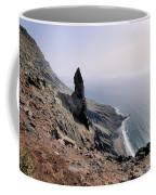 Famara Cliffs On Lanzarote Coffee Mug