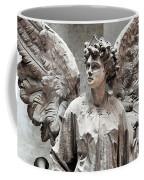 Famiglia Cavaliere Del Francesco Canti Memorial Marker Detail IIi Monumental Cemetery Coffee Mug