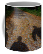 Familiar Shadows Coffee Mug