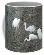 Family Affair Egrets Louisiana Coffee Mug