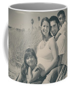 Family Beach Day Coffee Mug