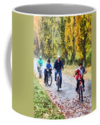 Family Bike Ride Coffee Mug