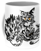 Family Cat Coffee Mug