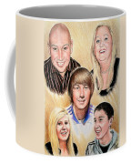 Family Collage Commissions Coffee Mug
