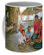 Family In Countryside Outside Of Siem Reap-cambodia Coffee Mug