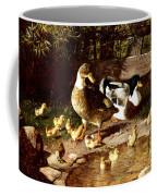 Family Of Ducks Coffee Mug