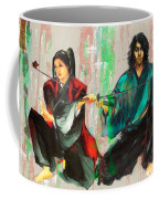 Family Samurai  Coffee Mug