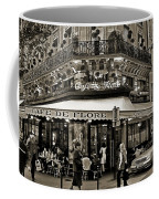 Famous Cafe De Flore - Paris Coffee Mug by Carlos Alkmin
