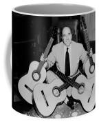Famous Guitarist Carlos Montoya 1953 Coffee Mug