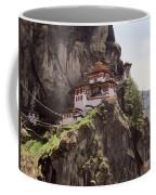 Famous Tigers Nest Monastery Of Bhutan 12 Coffee Mug