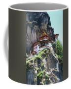 Famous Tigers Nest Monastery Of Bhutan 7 Coffee Mug