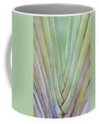 Fan Palm Abstract 2 Coffee Mug