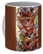 Fan Palm Trunk In Andreas Canyon In Indian Canyons-ca Coffee Mug