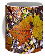 Fancy Fall Leaves Coffee Mug