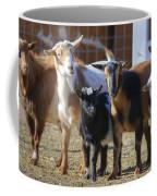 Fancy Goats Coffee Mug