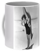 Fanny Brice And Beach Toy Coffee Mug