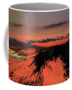 Fantastic Space Sunset Coffee Mug