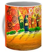 Fantasy Art - The Village Festival Coffee Mug