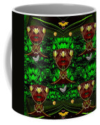 Fantasy Leather Heads In A Scenery Coffee Mug