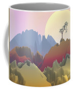 Fantasy Mountain Coffee Mug