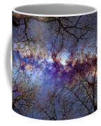 Fantasy Stars Milkyway Through The Trees Coffee Mug