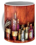 Fantasy - Wizard's Ingredients Coffee Mug by Mike Savad