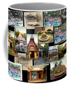 Fantasyland Disneyland Collage Coffee Mug