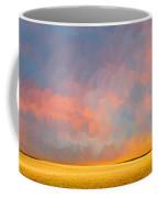 Far Away Sunset With Old Tree Coffee Mug