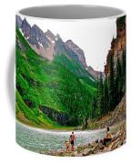 Far End Of Lake Louise In Banff Np-alberta Coffee Mug