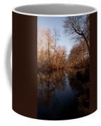 Far Mill River Reflects Coffee Mug