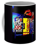 Far Out Art Museum At Wonderworks Coffee Mug