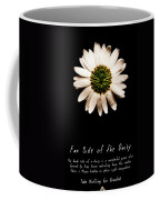 Far Side Of The Daisy Fractal Version Coffee Mug