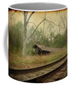 Far Side Of The Tracks Coffee Mug