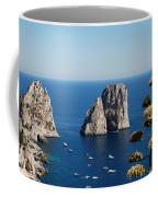 Faraglioni In Capri Coffee Mug