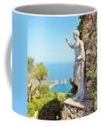 Faraglioni Rocks From Mt Solaro Capri Coffee Mug