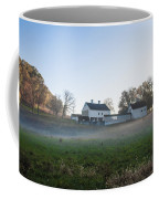 Farm At Valley Forge In Morning Coffee Mug