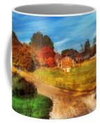 Farm - Barn -  A Walk In The Country Coffee Mug by Mike Savad