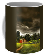 Farm - Barn - Storms A Comin Coffee Mug