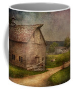 Farm - Barn - The Old Gray Barn  Coffee Mug