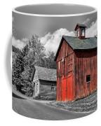 Farm - Barn - Weathered Red Barn Coffee Mug