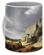 Farm Buildings In A Landscape, C.1625-28 Coffee Mug