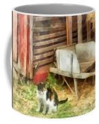 Farm Cat Coffee Mug