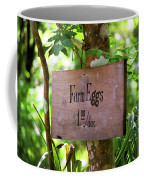 Farm Eggs Coffee Mug