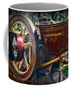 Farm Equipment - New Holland Feed And Cob Mill Coffee Mug by Paul Ward