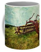 Farm Equipment In A Field Coffee Mug by Amy Cicconi