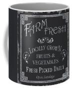 Farm Fresh Sign Coffee Mug